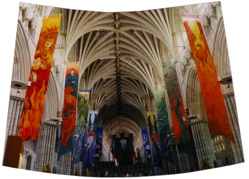 Exeter Cathedral Banners